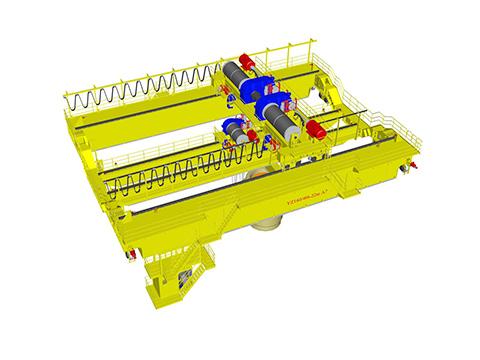 продам двухбалочный кран мостовой литейный