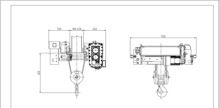 продам тельфер и таль электрическая схема и чертеж
