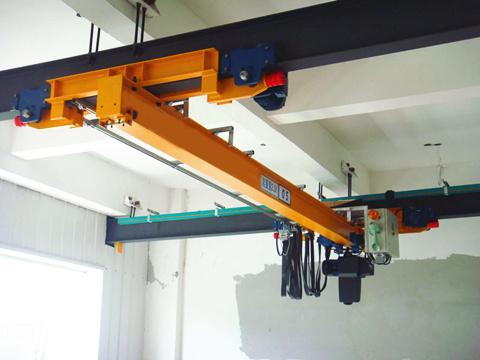 Купить мостовой кран однобалочный подвесной и опорный цена