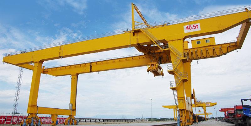 Купить контейнерный козловой кран цена в Китае