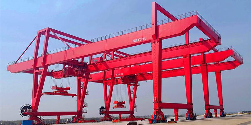 Купить козловой кран для контейнеров в Китае