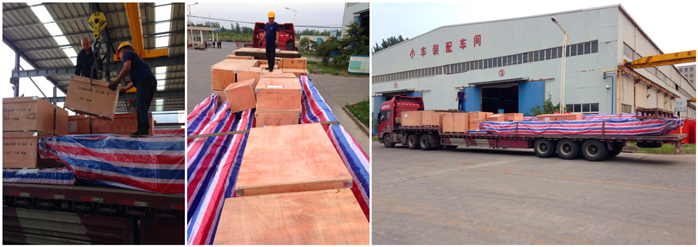 Китайские однобалочные мостовые краны в Узбекистан экспортировались