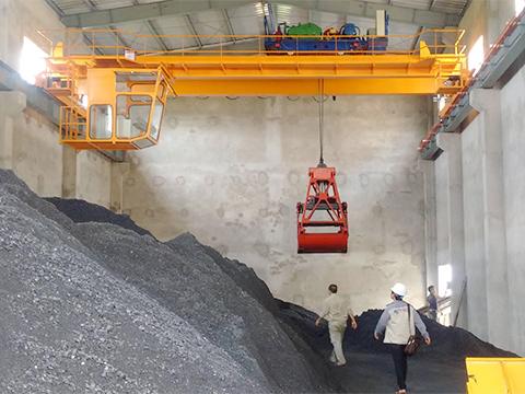 Китайский грейферный мостовой кран купить цена